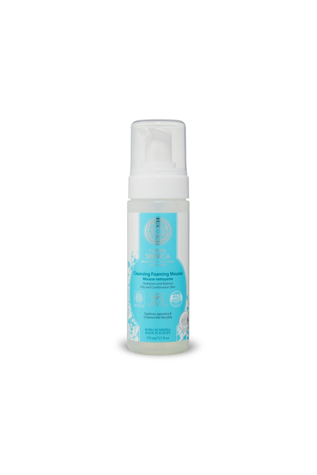 20720 natural organic cistici hydratacni pena pro mastnou plet 150 ml