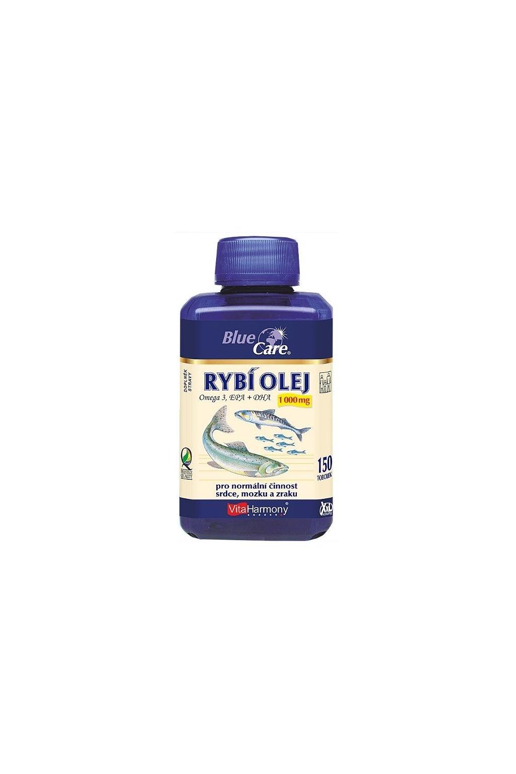 4581 vitaharmony rybi olej omega 3 1000 mg 150 tobolek