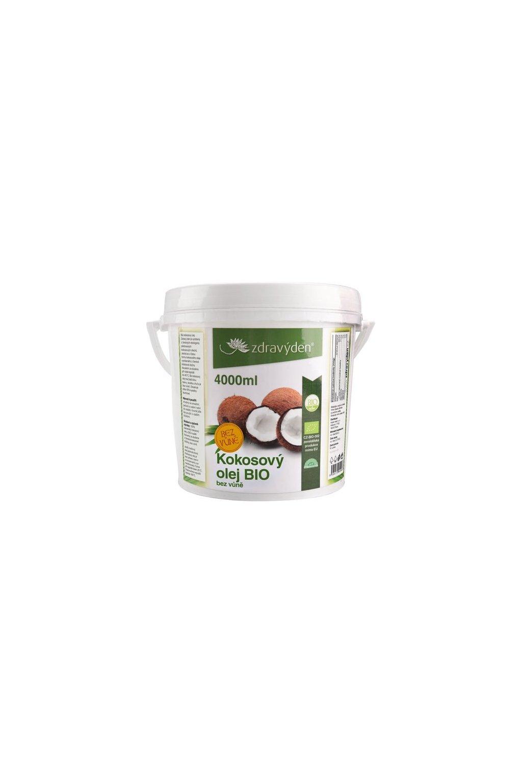 kokosovy olej bio 4000ml