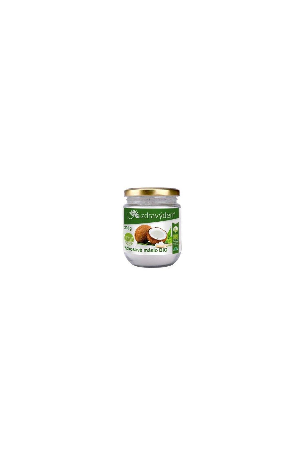 Zdravý den Kokosové máslo BIO (varianta 200g)