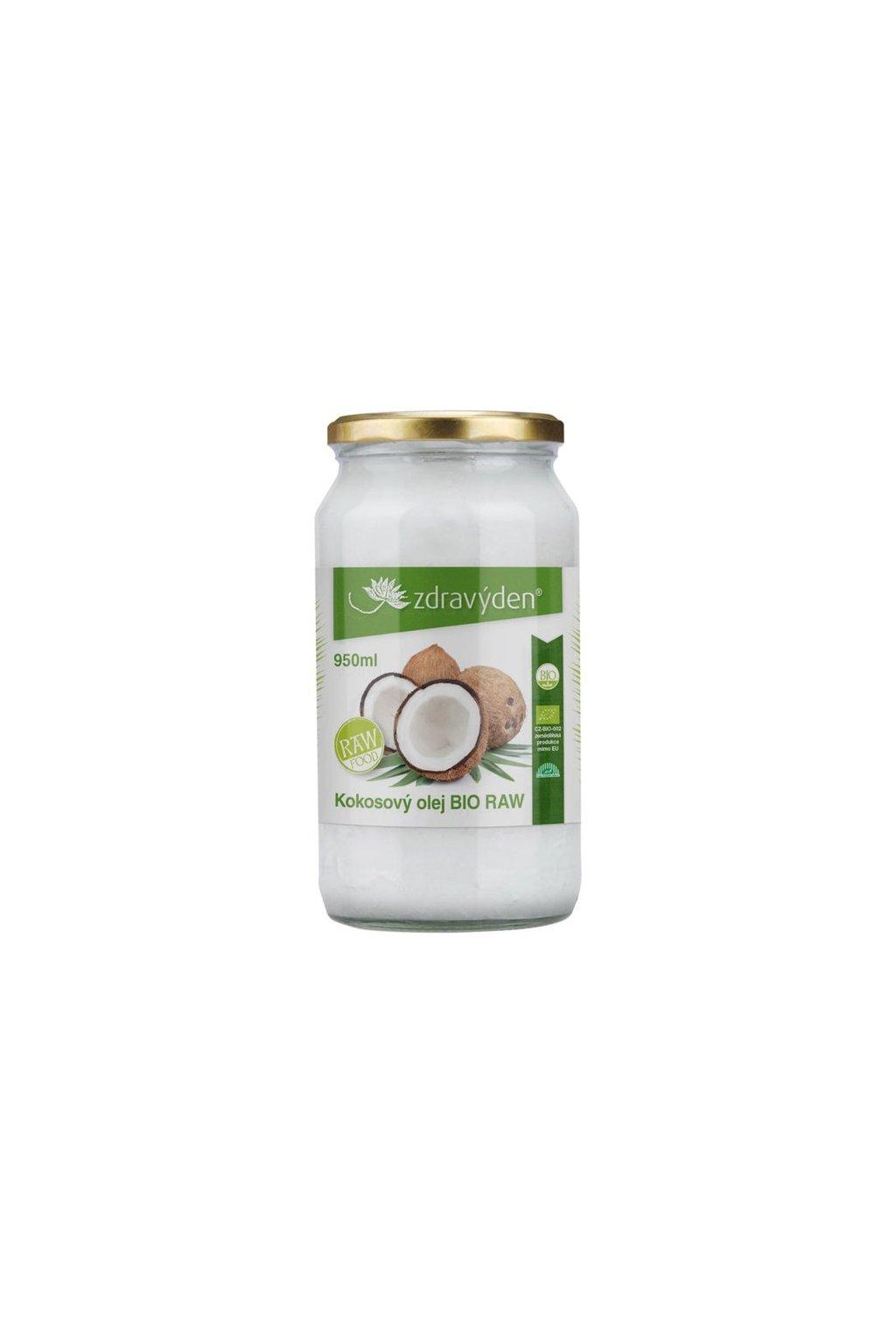 kokosovy olej bio raw 95