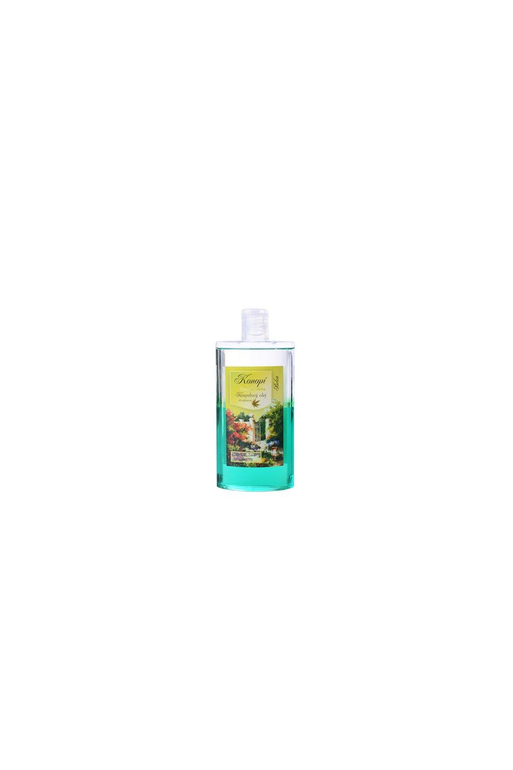 Konopí-Koupelový olej dvoufázový s minerály mrtvého moře relaxační ... 4050b15f3a