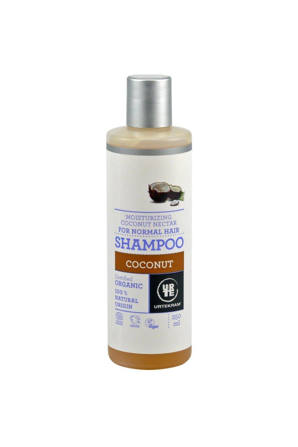 Urtekram šampon kokosový Bio (varianta 500ml)