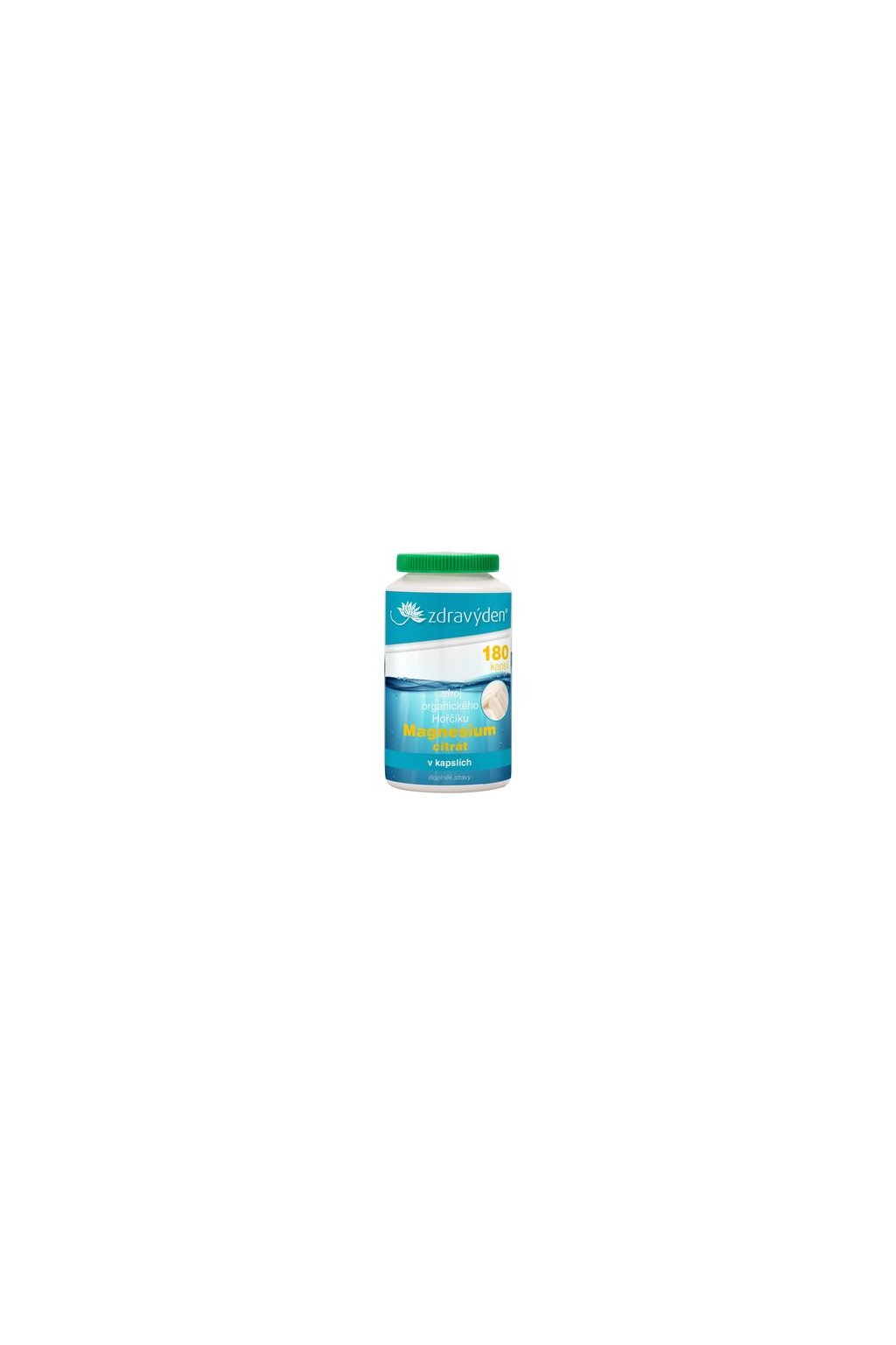 10235 zdravy den magnesium citrat 180 kapsli