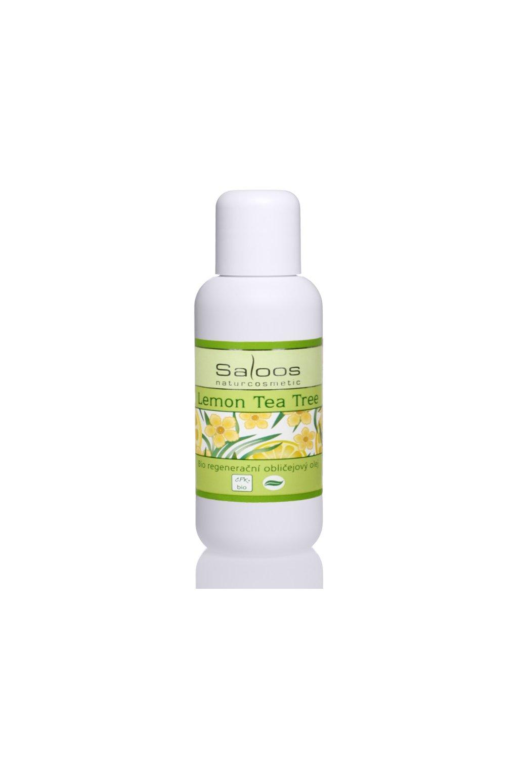 11237 saloos regeneracni oblicejovy olej lemon tea tree 100 ml