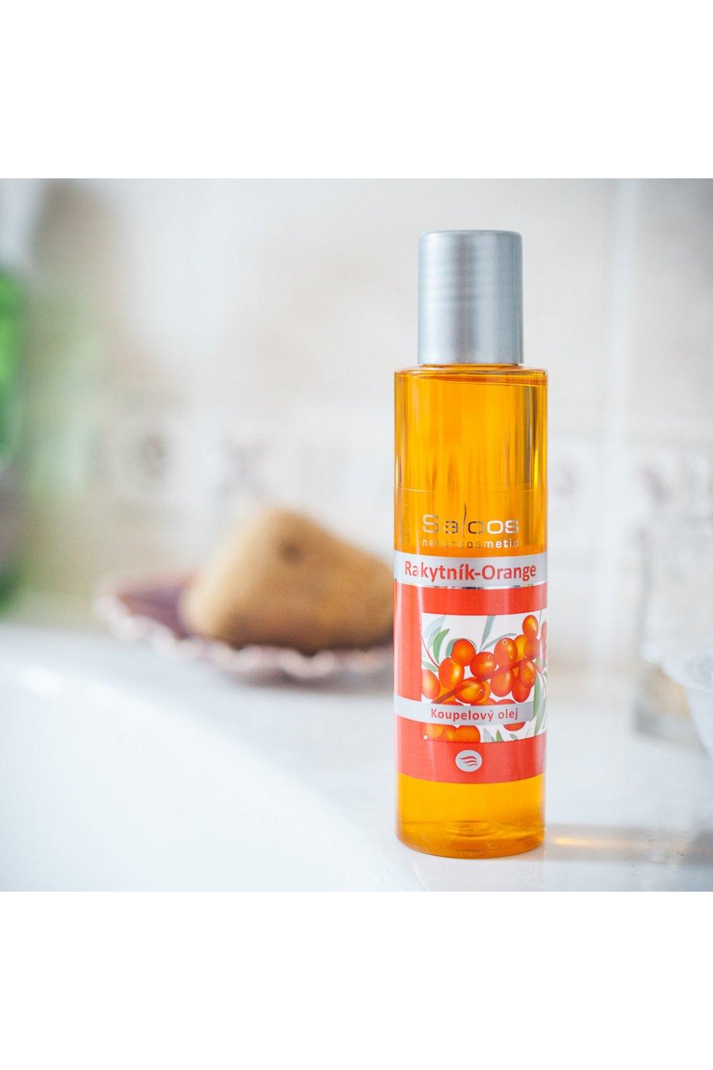 Saloos koupelový olej Rakytník Orange (varianta 1000ml)