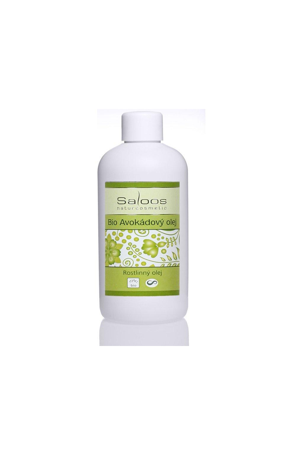 Saloos Bio Avokádový olej rostlinný lisovaný za studena (varianta 1000ml)