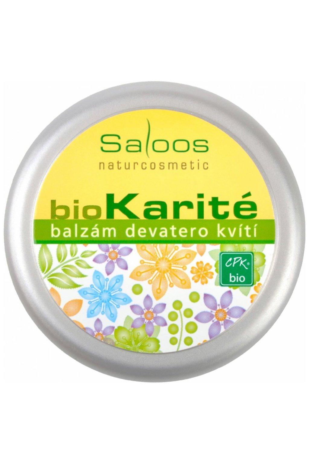11759 saloos bio karite devatero kviti bio balzam 19 ml