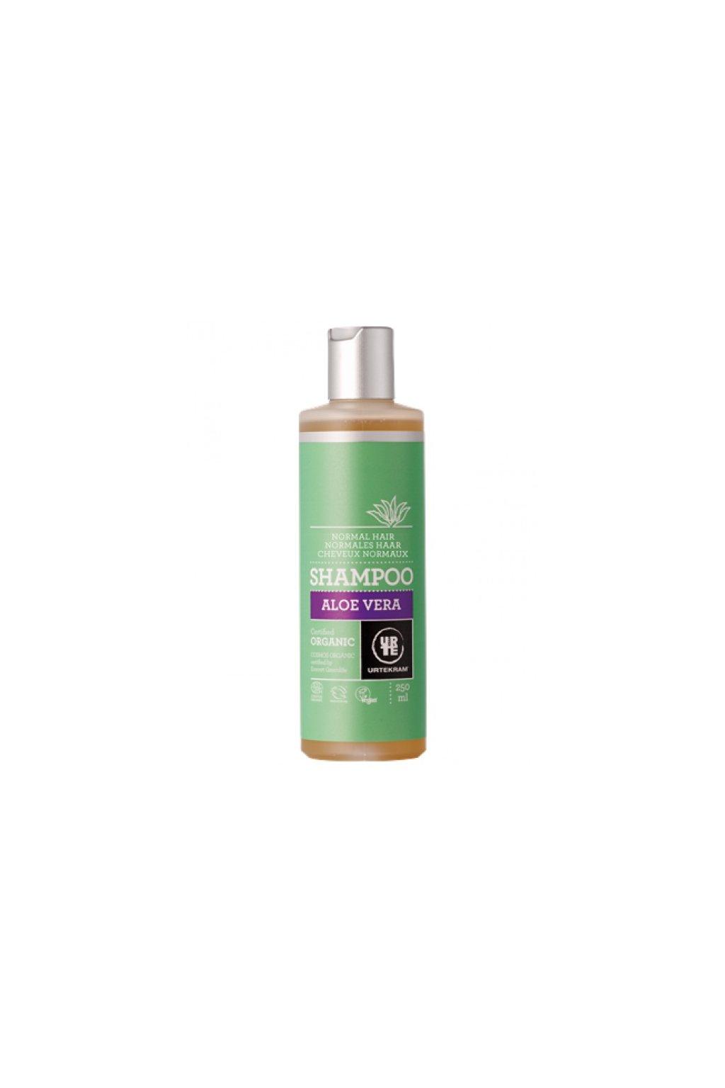 Urtekram Šampon aloe vera - normální vlasy (varianta 500ml)