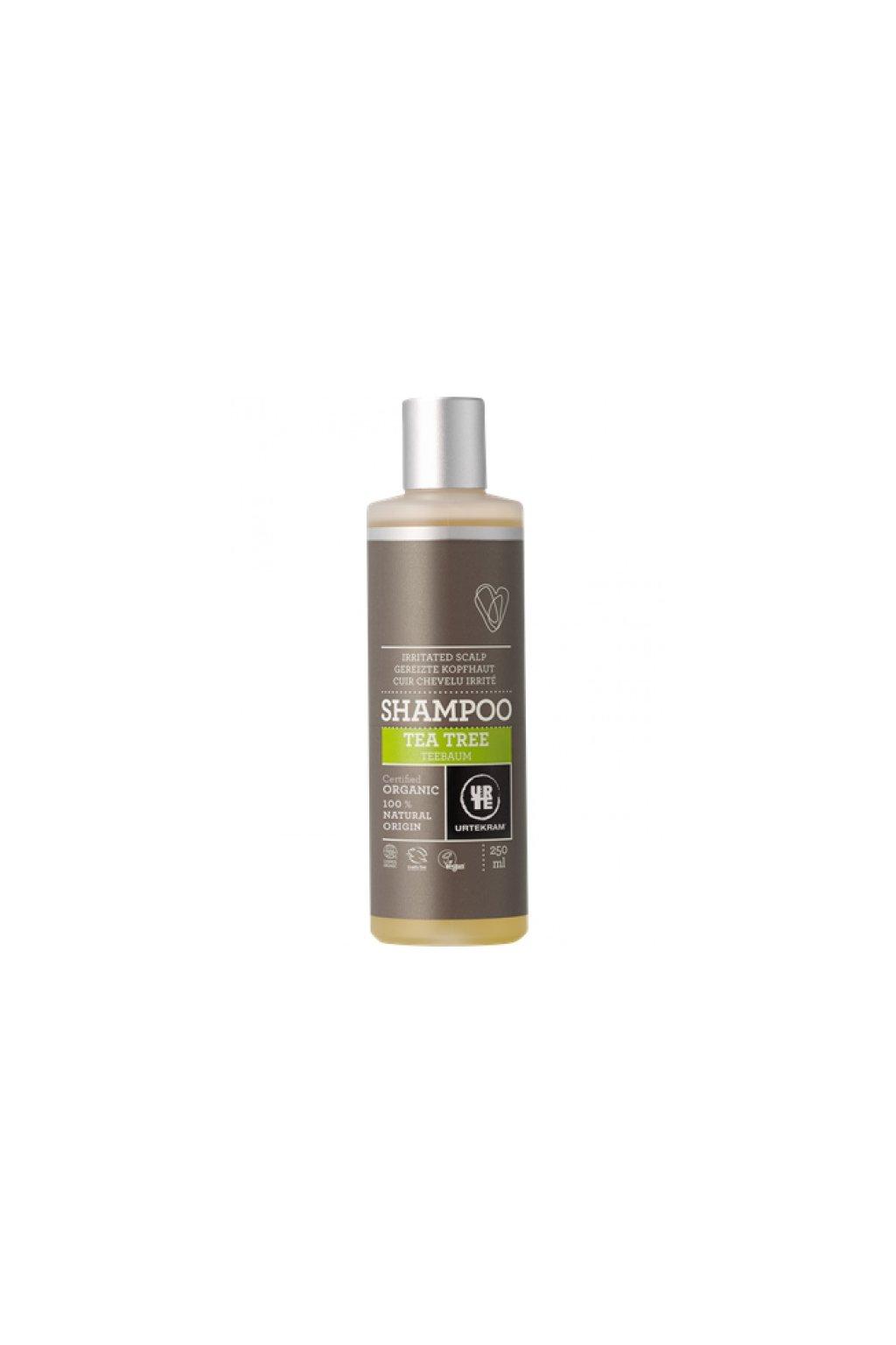 Urtekram šampon Tea tree (varianta 500ml)
