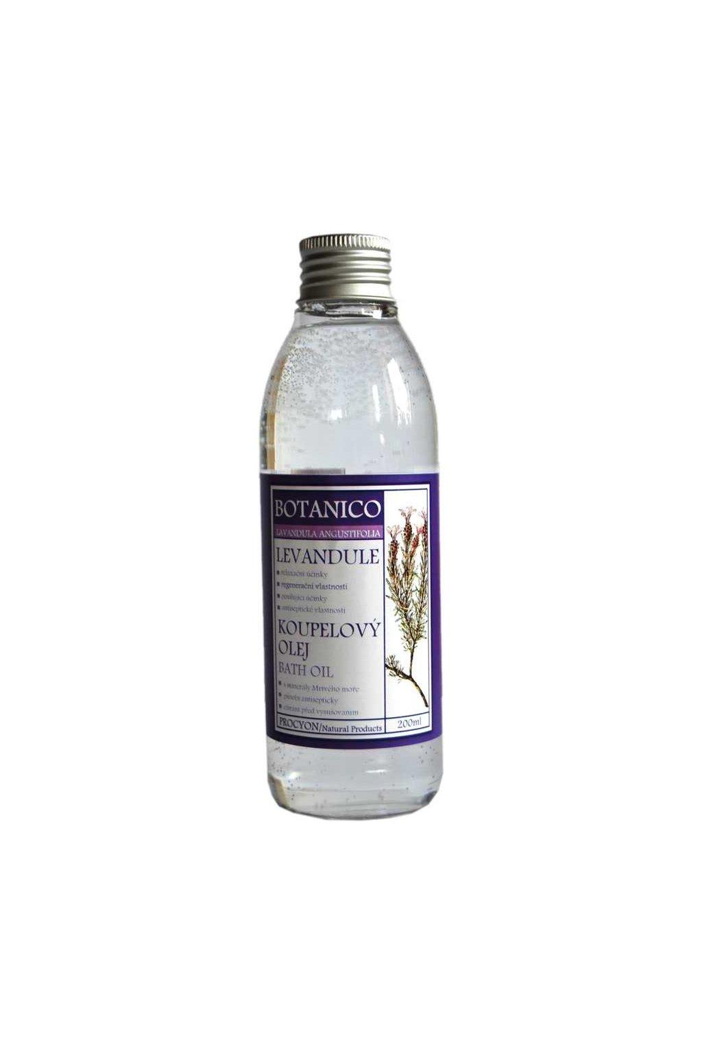 Botanico - Levandulový koupelový olej - 200ml