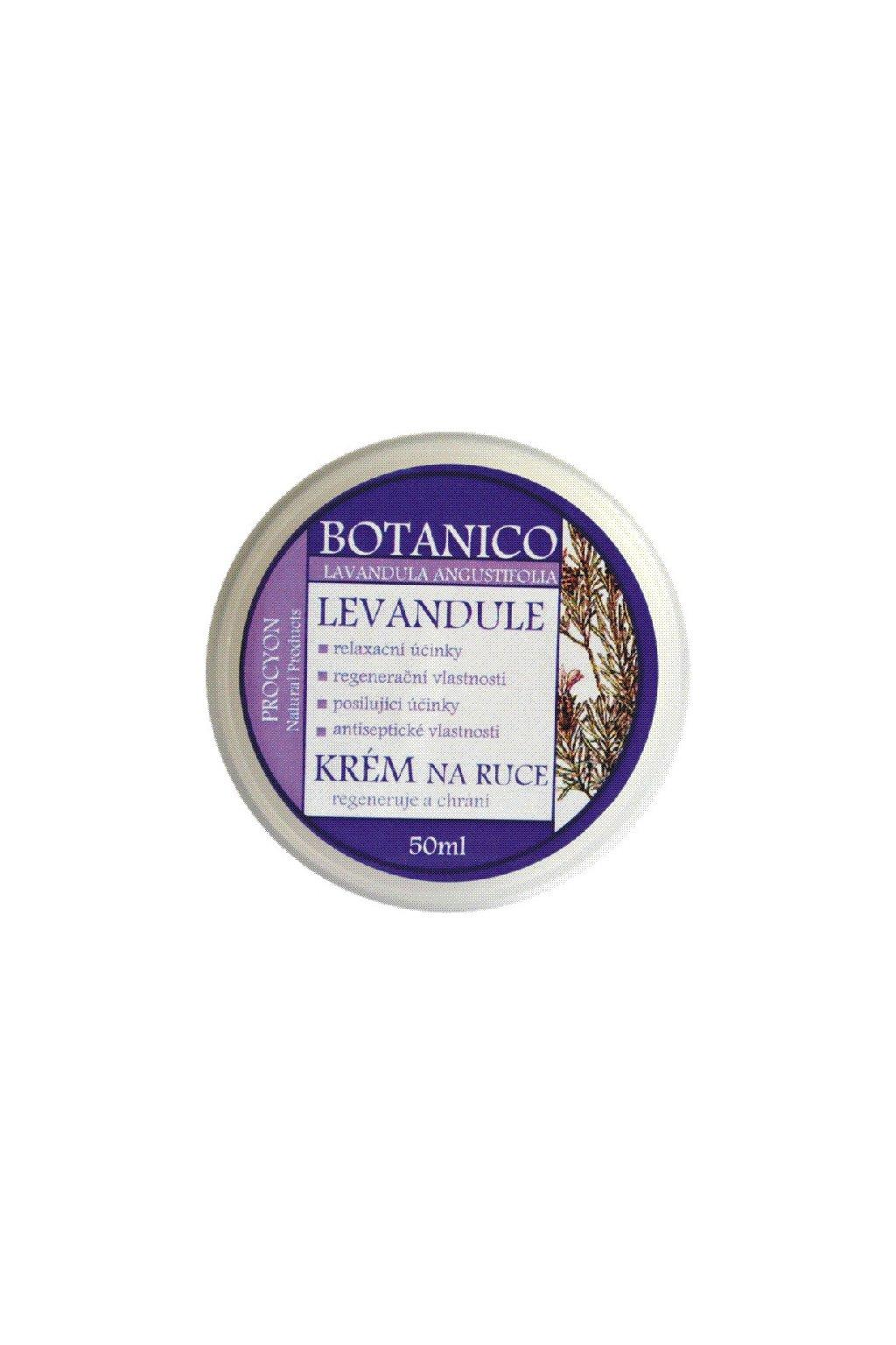 Botanico - Levandulový výživný krém na ruce - 50ml