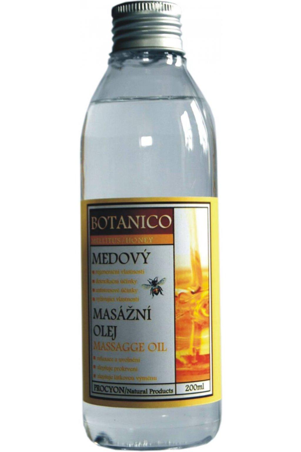 Botanico - Masážní olej - Medový - 200ml