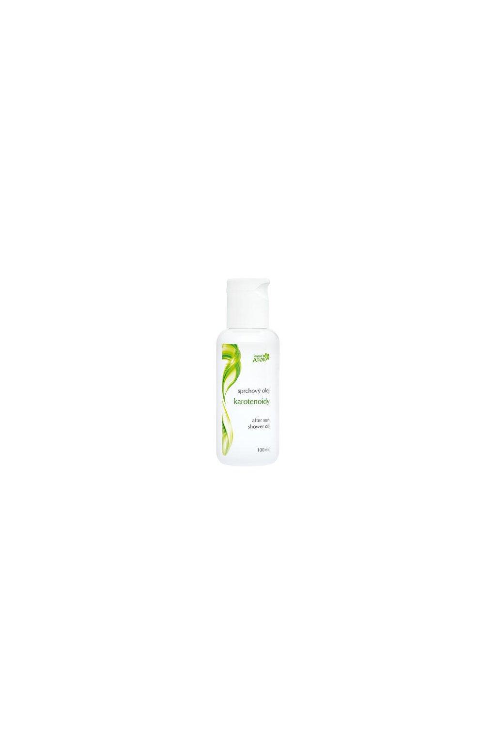 Atok sprchový olej po opalování karotenoidy (varianta 100ml)