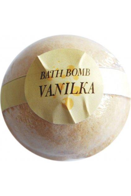 Botanico - Šumivá koupelová koule vanilka - 70g