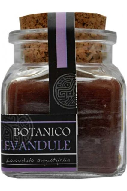 Botanico Fialová levandule kalamař s korkem 100 ml