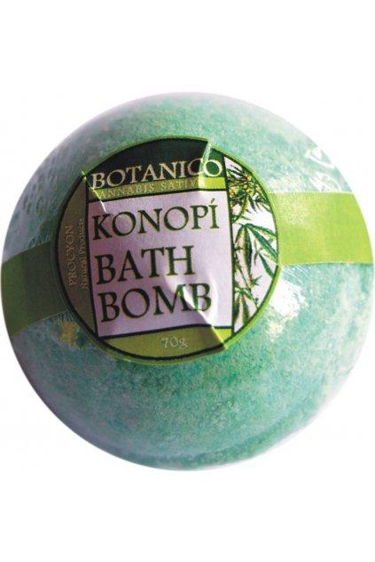 Procyon Botanico konopná koupelová koule šumivá 70 g
