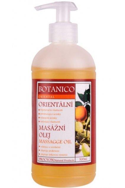 Procyon Botanico Orientální masážní olej 500 ml