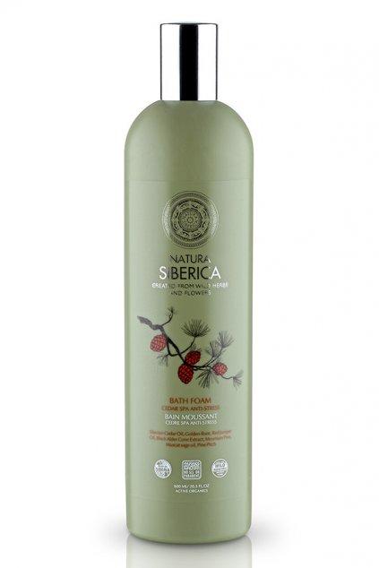 20549 natura siberica cedrova protistresova pena do koupele spa 550 ml