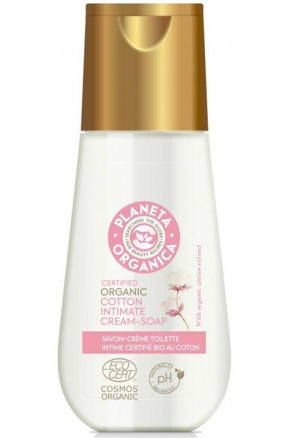 20432 planeta organica organicke kremove mydlo na intimni hygienu 150 ml