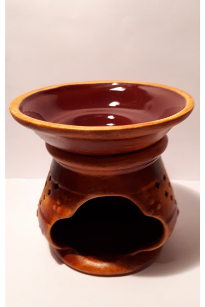 Kermická aromalampa Indická
