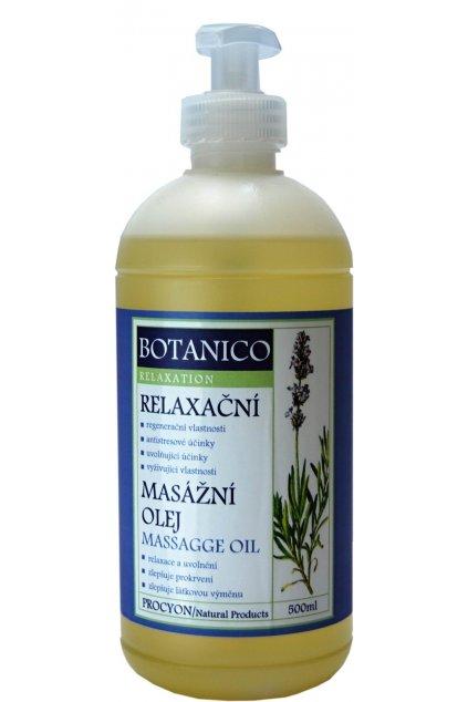 Botanico konopný relaxační olej s levandulí 500ml