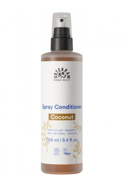 9833 urtekram bio kondicioner na vlasy ve spreji kokosovy 250 ml