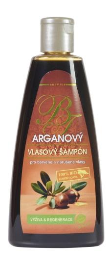Vivaco Šampon na vlasy s BIO arganovým olejem BODY TIP 250 ml
