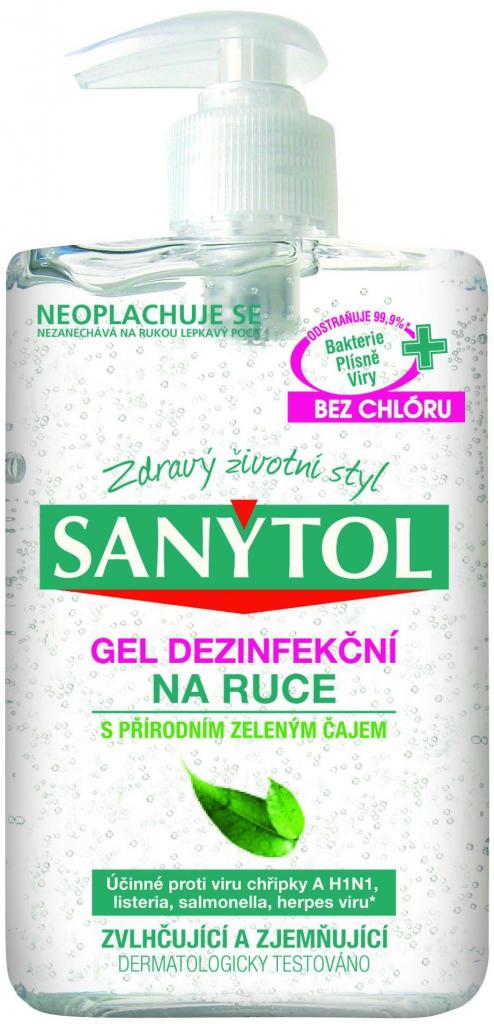 Sanytol Dezinfekční gel na ruce 250 ml