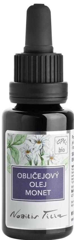 Nobilis Tilia Obličejový regenerační olej MONET 20 ml
