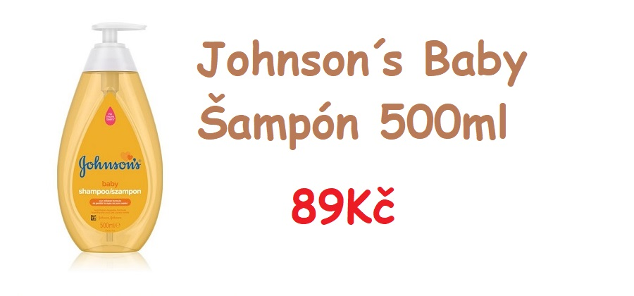 Johnsons šampon 500ml