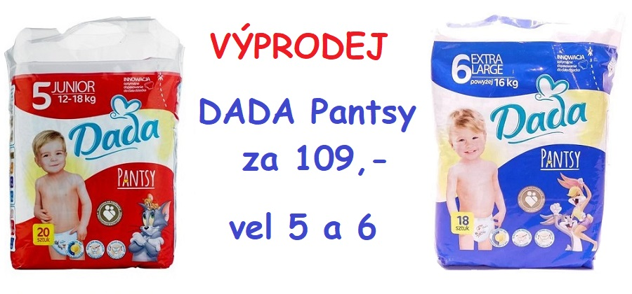 výprodej Dada Pantsy