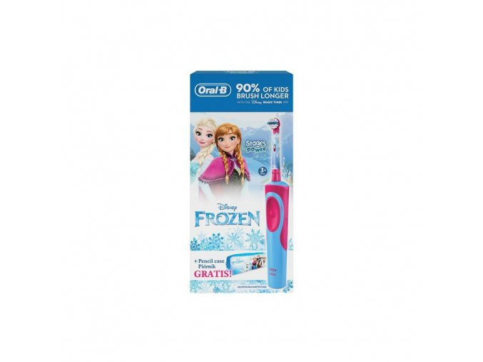 Detsky kartacek oral B vitality disney frozen penal
