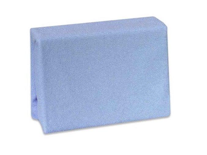 prostěradlo modré