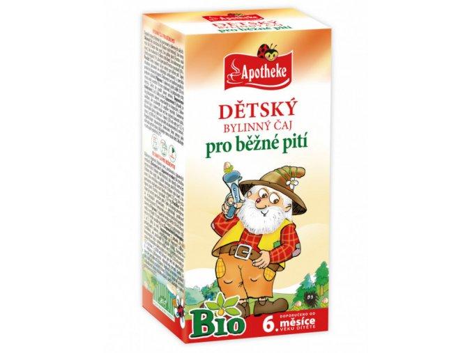 Apotheke bylinný čaj
