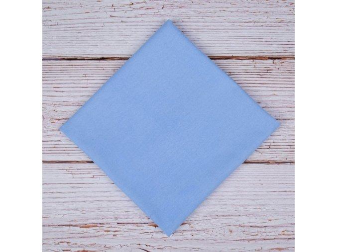 Flanelová plenka 70x80cm, modrá