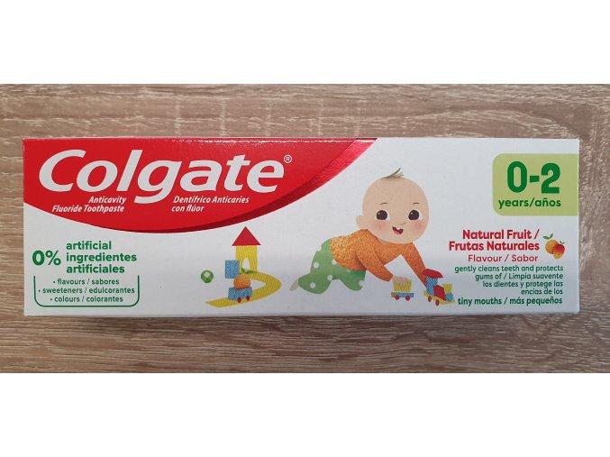 Colgate dětská ovocná zubní pasta 0-2 roky