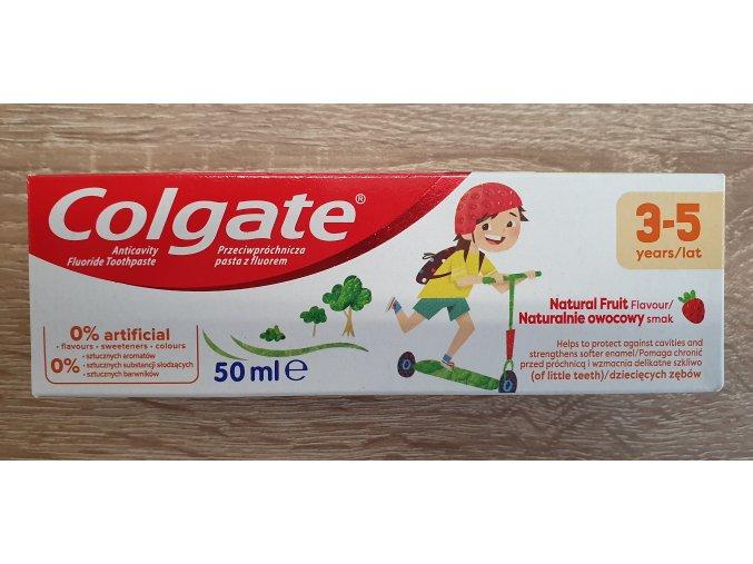 Colgate dětská ovocná zubní pasta 3-5 let