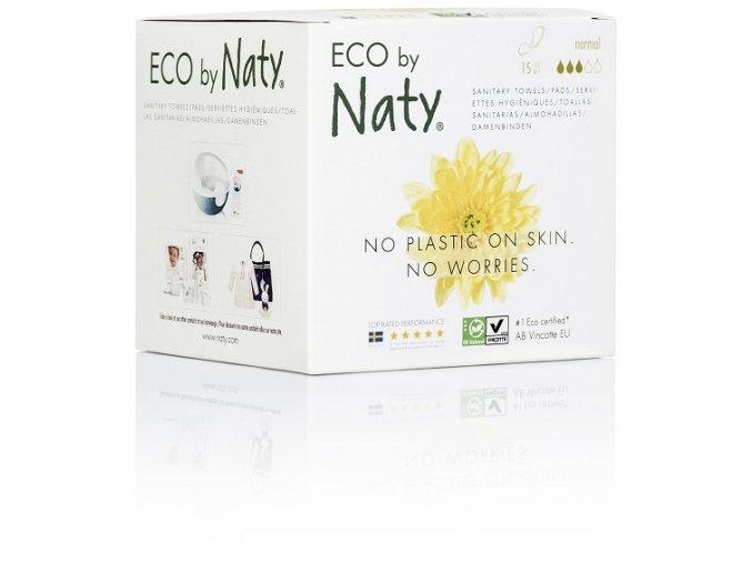 Dámské ECO vložky Naty normal (15 ks)