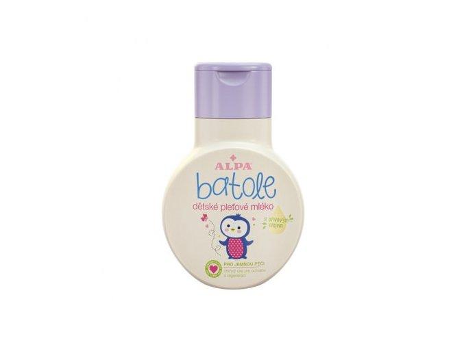 BATOLE dětské pleťové mléko s olivovým olejem 200ml