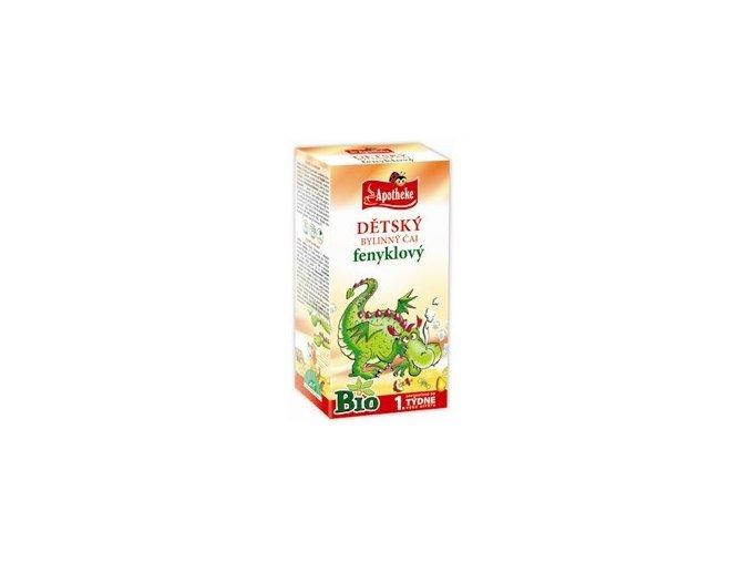 Dětský fenyklový čaj