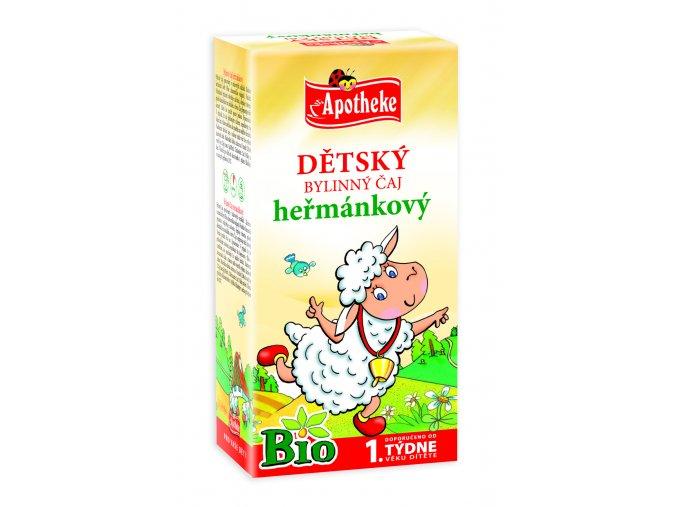 Dětský heřmánkový čaj