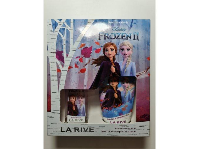 Frozen dárková sada parfému a sprchového gelu 2v1
