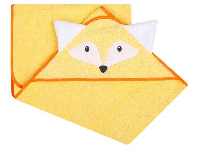 liška žlutá