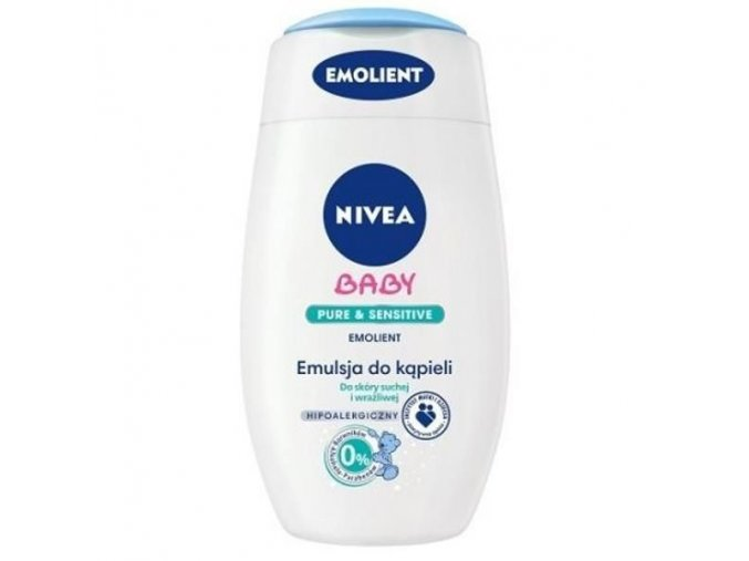 nivea baby emulsja do kapieli 200ml