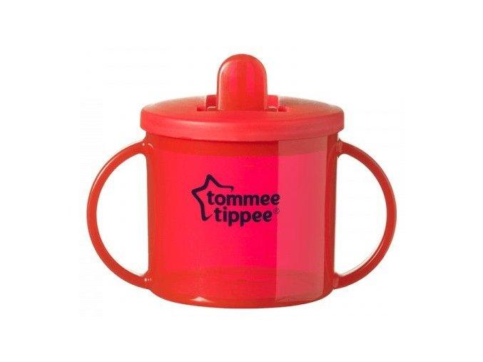 Tommee Tippee Hrneček dvouuchý pro nejmenší 4m+ 160ml červený