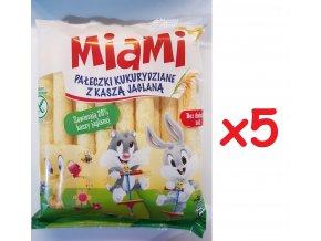 Miami křupky 60g bez soli x5ks