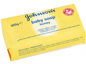 Johnsons Baby mýdlo honey