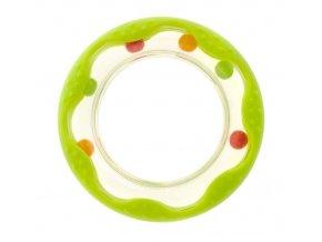 Akuku chrastítko kolečko zelené