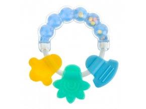 Akuku chrastítko bublinky modré